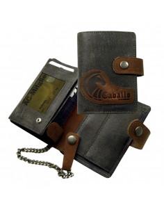 Cavallo láncos bőr pénztárca - LandLeder - 573