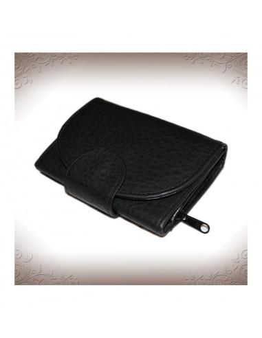 Fekete színű műbőr pénztárca - 54195