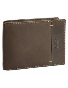 La Borsa pénztárca - Barna - 12x9,5 cm - LandLeder - 970-25