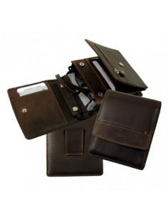 La Borsa pénztárca nyakba akasztható, övre fűzhető - Barna - LandLeder - 975-25