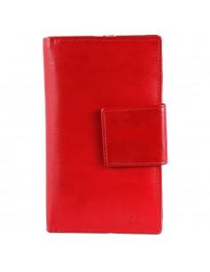 Akzent nagyméretű női pénztárca - 16x10 cm - PIROS - 495069551009